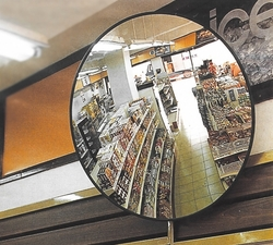 Polycarbonate (PC) Anti-Theft Convex Mirror 60 cm  from A ONE TOOLS TRADING LLC
