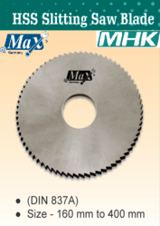 HSS Slitting Saw Blade for Metal from M H K HARDWARE TRADING LLC