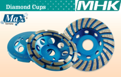 Diamond Grinding Cup - All Types from M H K HARDWARE TRADING LLC