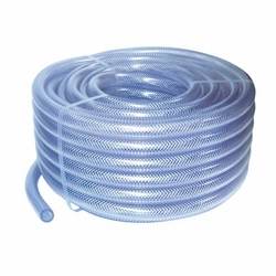 PVC Transparent Reinforced Hose 8 mm - 14 mm x 25  from A ONE TOOLS TRADING LLC