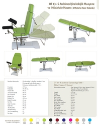 Gynecology chair - 3 motor  from MASTERMED EQUIPMENT TRADING LLC
