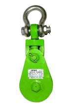 Shackle Type Heavy Duty Snatch Block from ADEX  PHIJU@ADEXUAE.COM/ SALES@ADEXUAE.COM/0558763747/05640833058