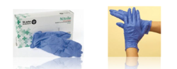 NITRILE POWDER-FREE EXTRA SENSITIVE GLOVES from ARASCA MEDICAL EQUIPMENT TRADING LLC