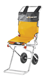SPENCER 406 Compact evacuation chair from ARASCA MEDICAL EQUIPMENT TRADING LLC