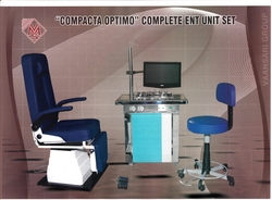 ENT WORK STATION WITH DR CHAIR AND PATIENT CHAIR  from MASTERMED EQUIPMENT TRADING LLC