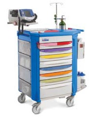 CRASH CART - EMERGENCY EQPT from MASTERMED EQUIPMENT TRADING LLC