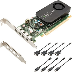 PNY NVIDIA NVS 510 for Quad DVI Low Profile VCNVS5