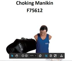 Choking Charlie manikin from ARASCA MEDICAL EQUIPMENT TRADING LLC