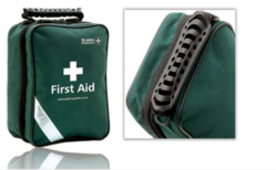 First aid kit empty bag from ARASCA MEDICAL EQUIPMENT TRADING LLC