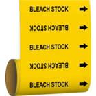 BRADY Bleach Stock Pipe Marker in uae from WORLD WIDE DISTRIBUTION FZE