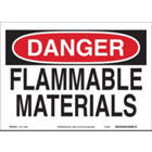BRADY Flammable Materials Signs suppliers in uae from WORLD WIDE DISTRIBUTION FZE