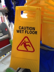 Wet Floor Sign Broad from DAITONA GENERAL TRADING (LLC)