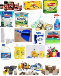 OFFICE PANTRY FOOD ITEMS / CLEANING ITEMS SUPPLIES from AZIRA INTERNATIONAL