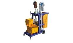 Janitor Cart from DAITONA GENERAL TRADING (LLC)