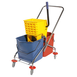 Double Mop Bucket Trolley In UAE from DAITONA GENERAL TRADING (LLC)