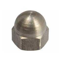 Hexagon Domed Cap Nut from NANDINI STEEL