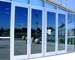 ALUMINIUM GLASS DOOR UAE  from WHITE METAL CONTRACTING LLC