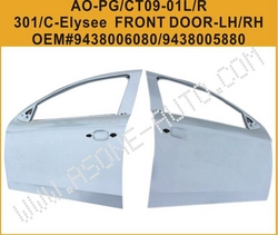 AsOne Front Door For Peugeot 301 OEM=9438005880 from YANGZHOU ASONE IMPORT&EXPORT CO.,LTD.