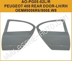 AsOne Rear Door For Peugeot 408 OEM=9008.W8 from YANGZHOU ASONE IMPORT&EXPORT CO.,LTD.