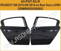 Rear Door For Peugeot 508 Auto Parts OEM=9008X3 from YANGZHOU ASONE IMPORT&EXPORT CO.,LTD.