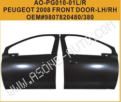 AsOne Front Door For Peugeot 2008 Body Parts from YANGZHOU ASONE IMPORT&EXPORT CO.,LTD.