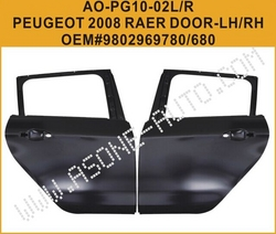 AsOne Motor Iron Parts For Peugeot 2008 Rear Door from YANGZHOU ASONE IMPORT&EXPORT CO.,LTD.