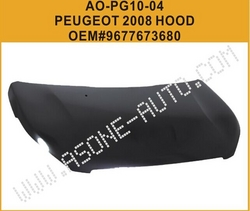 AsOne Auto Engine Hood/Bonnet For Peugeot 2008 from YANGZHOU ASONE IMPORT&EXPORT CO.,LTD.