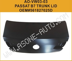 AsOne VW PASSAT B7 Trunk Lid Shell OEM= 561827025D from YANGZHOU ASONE IMPORT&EXPORT CO.,LTD.