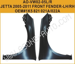 AsOne Good Selling Jetta A5 Front Fender from YANGZHOU ASONE IMPORT&EXPORT CO.,LTD.