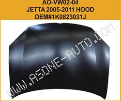 AsOne Auto Engine Hood/Bonnet For VW Jetta A5 from YANGZHOU ASONE IMPORT&EXPORT CO.,LTD.