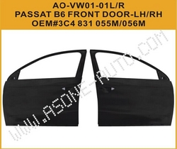 AsOne Steel Car Front Door For VW PASSATB6 2006-ON from YANGZHOU ASONE IMPORT&EXPORT CO.,LTD.
