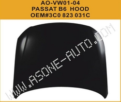 Car Steel Body Parts Engine Hood For VW Passat B6 from YANGZHOU ASONE IMPORT&EXPORT CO.,LTD.