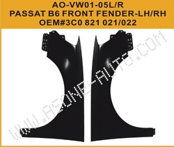 AsOne Front Fender For VW Passat B6 from YANGZHOU ASONE IMPORT&EXPORT CO.,LTD.