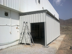 SANDWICH PANEL CLADDING  from WHITE METAL CONTRACTING LLC