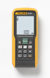 Laser Distance Meters - Fluke 424D from SYNERGIX INTERNATIONAL