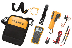 Fluke HVAC Multimeter and IR Thermometer Kit from SYNERGIX INTERNATIONAL
