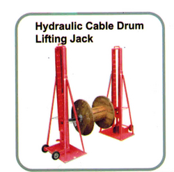 HYDRAULIC CABLE DRUM LIFTING JACK from EXCEL TRADING COMPANY - L L C