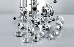 stainless steel dairy valve fitting from KRISHI ENGINEERING WORKS