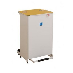 Kendal 50L waste bin - solid body from ARASCA MEDICAL EQUIPMENT TRADING LLC
