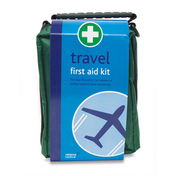 Travel First Aid Kit  in Green Helsinki Bag from ARASCA MEDICAL EQUIPMENT TRADING LLC