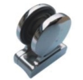 Stainless Steel Circle Glass Clamp  from SAFARI METAL TRADING LLC