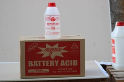 BATTERY ACID SUPPLIERS from AL SAQR INDUSTRIES LLC