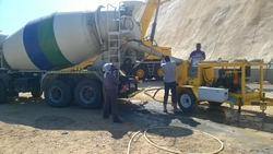 SHOTCRETE PUMP RENTAL IN OMAN