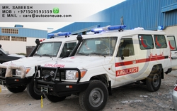 TOYOTA LAND CRUISER HARDTOP AMBULANCE  from AUTO ZONE ARMOR & PROCESSING CARS LLC