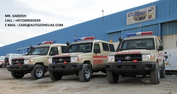 TOYOTA ARMOURED AMBULANCE from AUTO ZONE ARMOR & PROCESSING CARS LLC