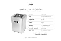 SANITATION MACHINE THRILL VORTEX F-PRO SUPLIER IN