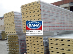 PUF-PIR-ROCKWOOL-MINERAL WOOL INSULATED PANELS  from DANA GROUP UAE-OMAN-SAUDI