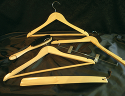 WOODEN HANGERS FOR HOTELS SUPPLIERS IN DUBAI UAE from GOLDEN DOLPHINS SUPPLIES