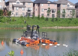 REMOTE CONTROLLED DREDGER