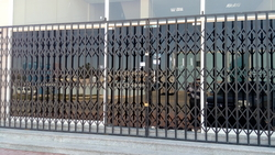 fabrication works from DOORS & SHADE SYSTEMS